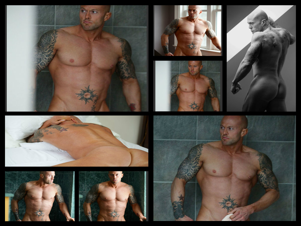 Tattooed Adult Model John Quinlan