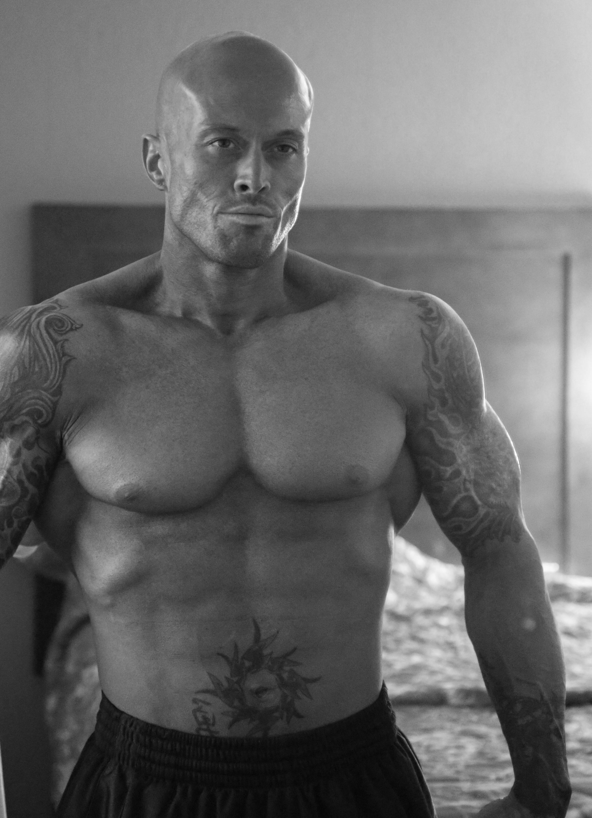 Tattooed Sports & Romance Model John Quinlan in 2012