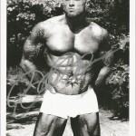 Tattooed Model John Quinlan Autograph 8x10