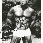 Tattooed Model John Quinlan Autographed 8x10