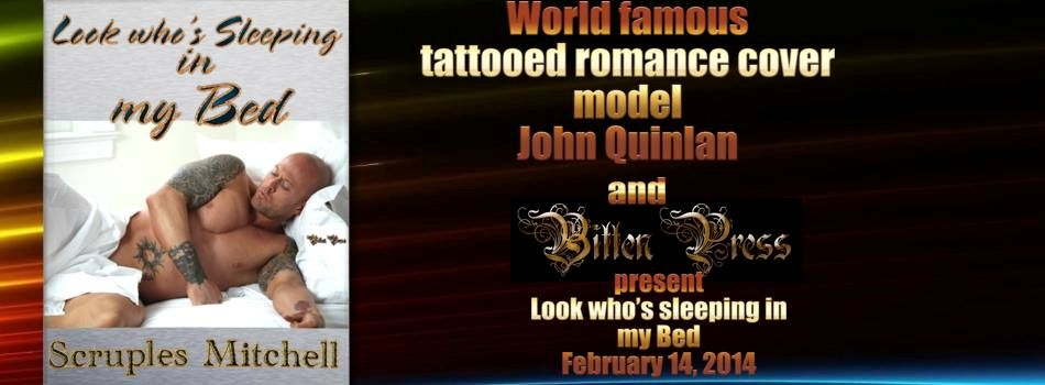 World Famous Tattooed Romance Cover Model John Quinlan & Bitten Press