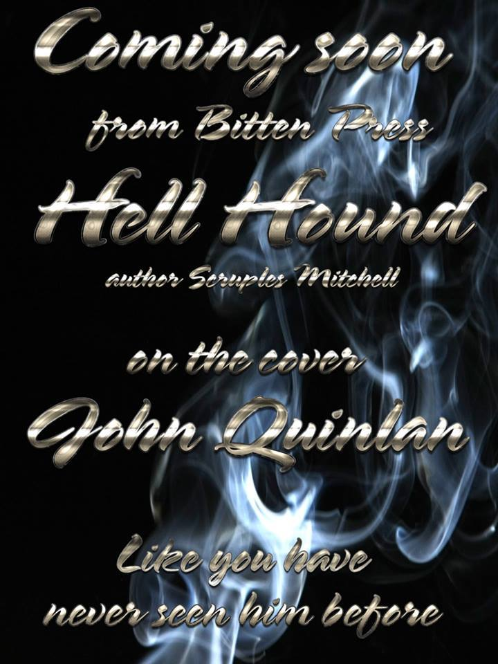 Tattooed Romance Model John Quinlan Hell Hound Book Cover Preview by Bitten Press