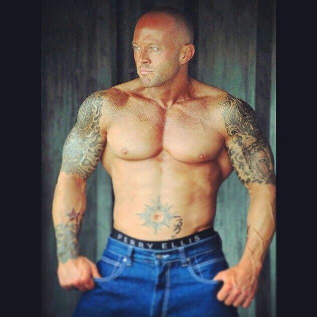 Tattooed Model John Quinlan
