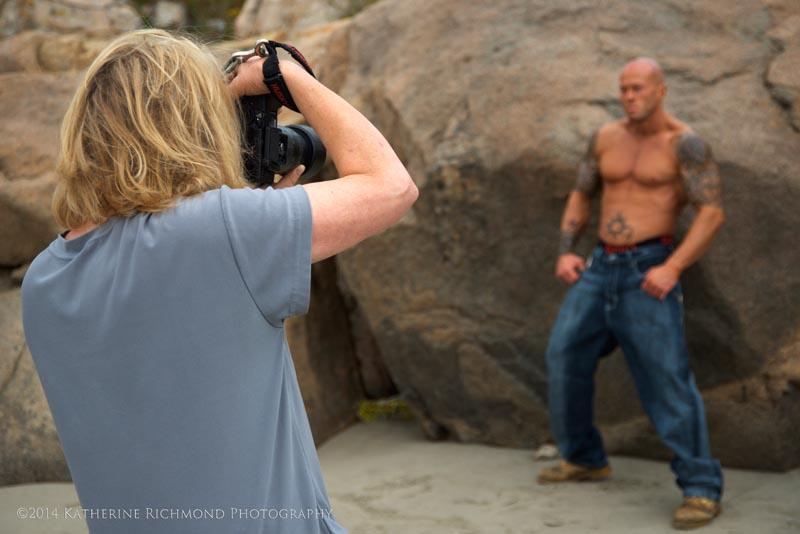 Tattooed Male Model John Quinlan via Katherine Richmond Photography