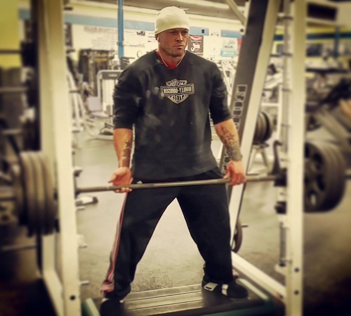 Tattooed Physique Model John Quinlan Gym Training 14'