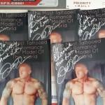 Tattooed Romance Model John Quinlan Contest Giveaway Autographs via Debra Anastasia