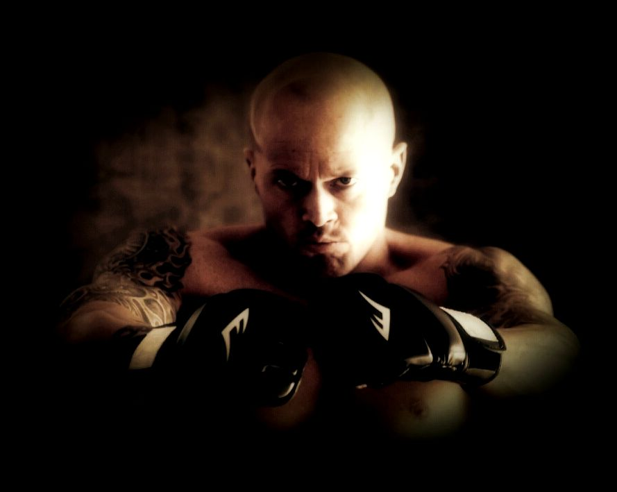 Tattooed Model John Quinlan MMA Fighter Themed Promo 14'