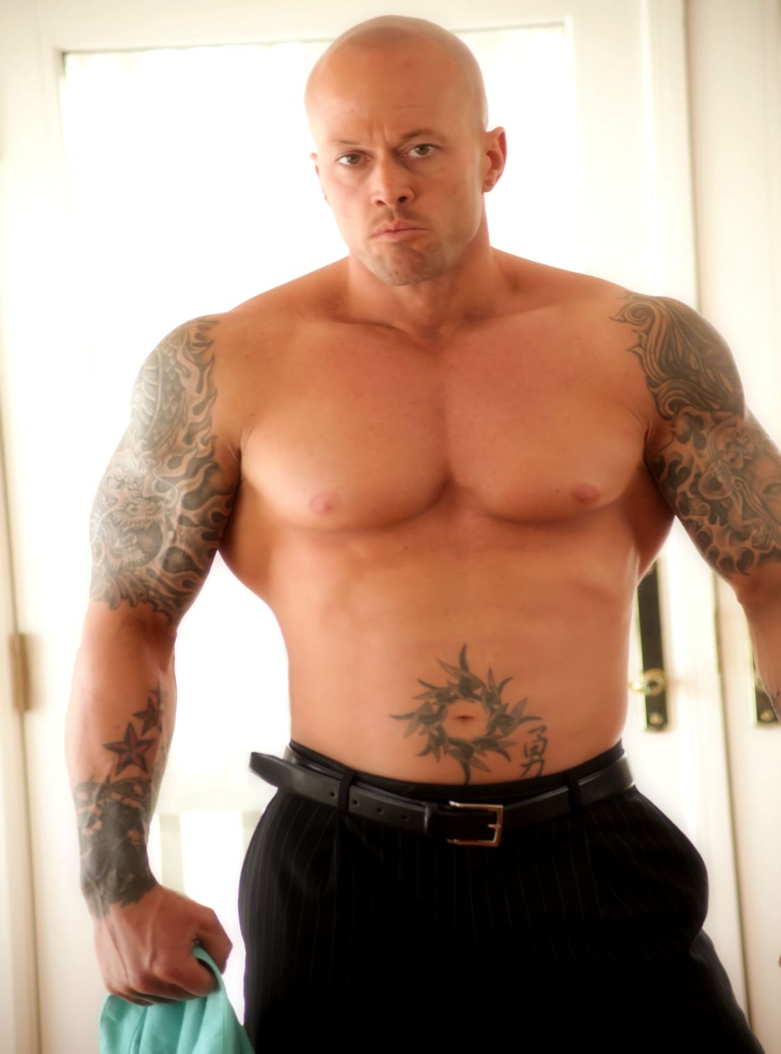 Tattooed Romance Cover Model John Quinlan