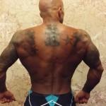 2014 NPC Jay Cutler Classic Boston Physique Model John Quinlan Back Shot
