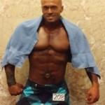 2014 NPC Jay Cutler Classic Boston Physique Model John Quinlan Post Prejudging
