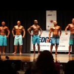 NPC Vermont 2014 Mens Physique Masters Finals - #27 John Quinlan (2nd from Left)