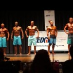 NPC Vermont 2014 Mens Physique Master's Finals - #27 John Quinlan (3rd from left)