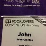 Official RT Romance Cover Model John Quinlan 2014