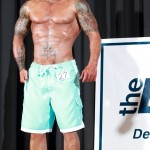 Tattooed Model John Quinlan 2014 NPC Vermont Men's Physique