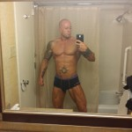 Tattooed Model John Quinlan RT NOLA 14' Hotel Room