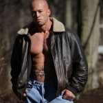 Male Model John Quinlan in Calvin Klein