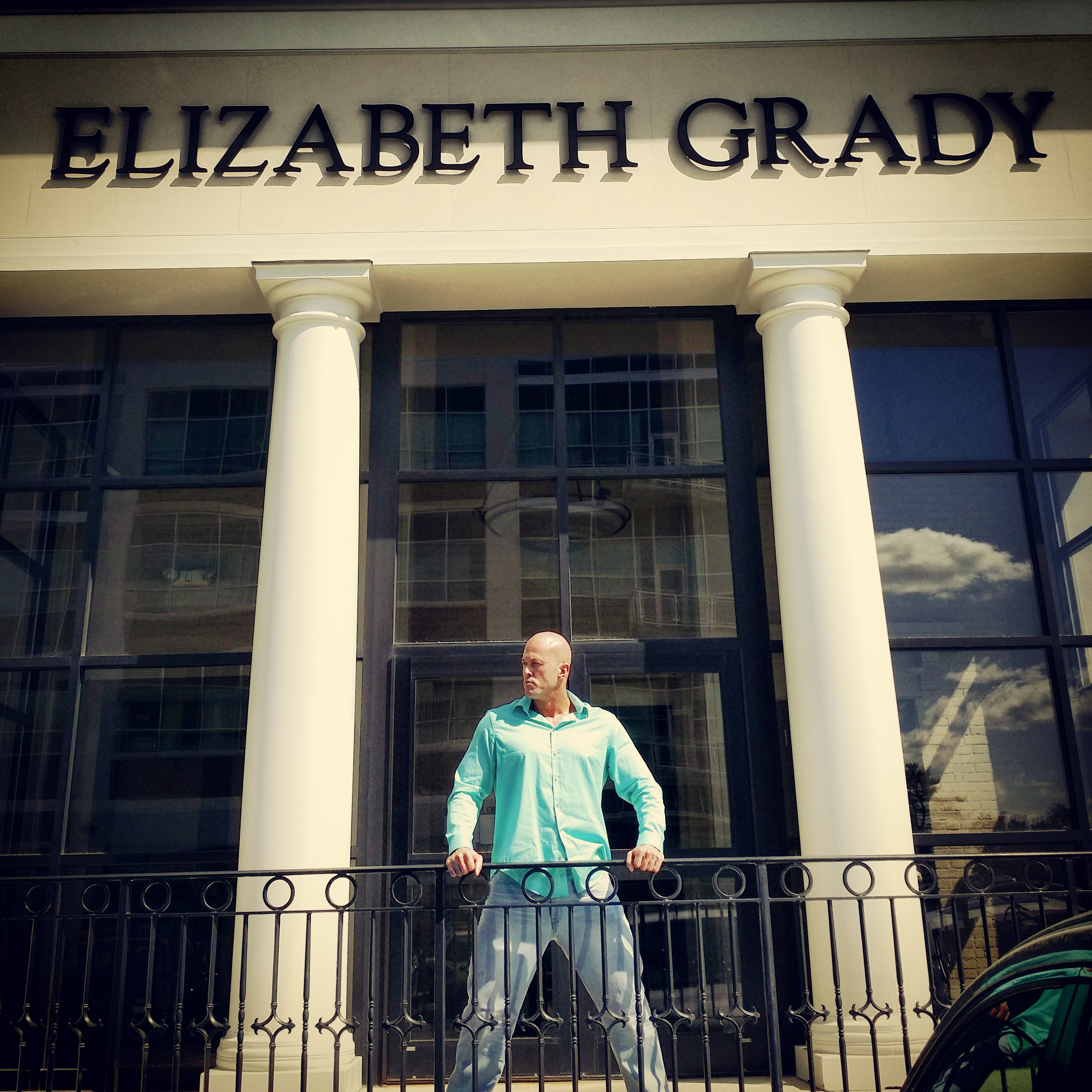 Model John Quinlan for Elizabeth Grady Company