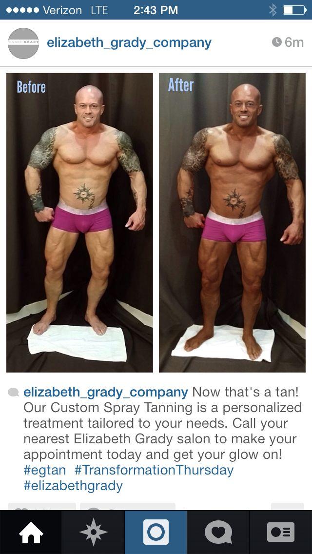 Elizabeth Grady Spokesmodel John Quinlan Spray Tanning