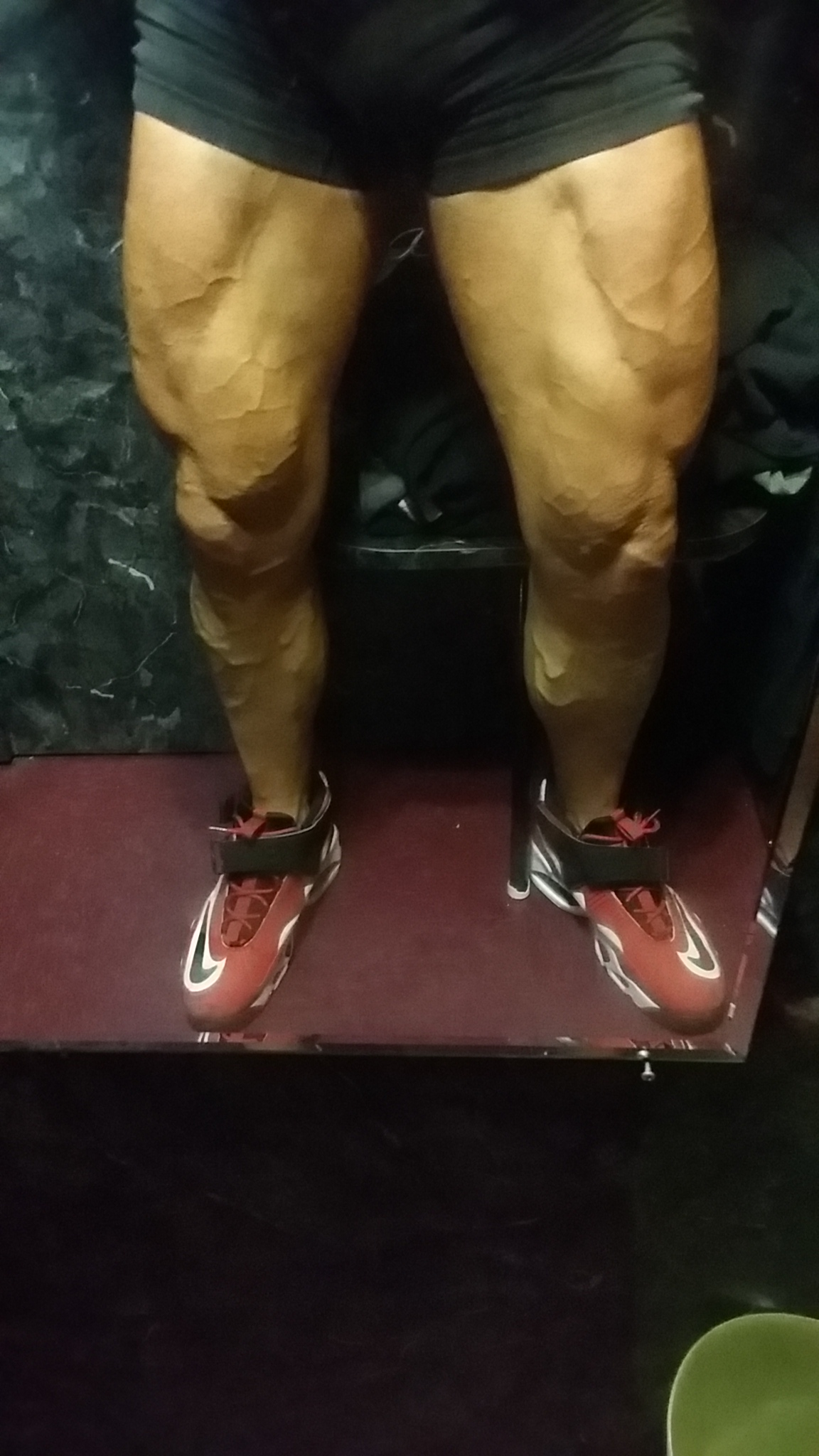 Physique & Tattoo Model John Quinlan Quads Thighs Calves