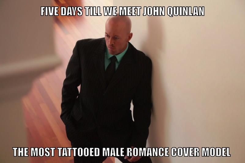 Featured Tattooed Romance Model John Quinlan