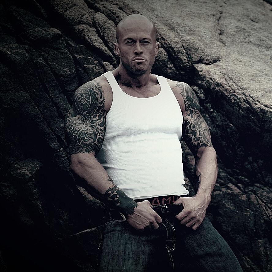 Tattooed Romance Cover Model John Quinlan