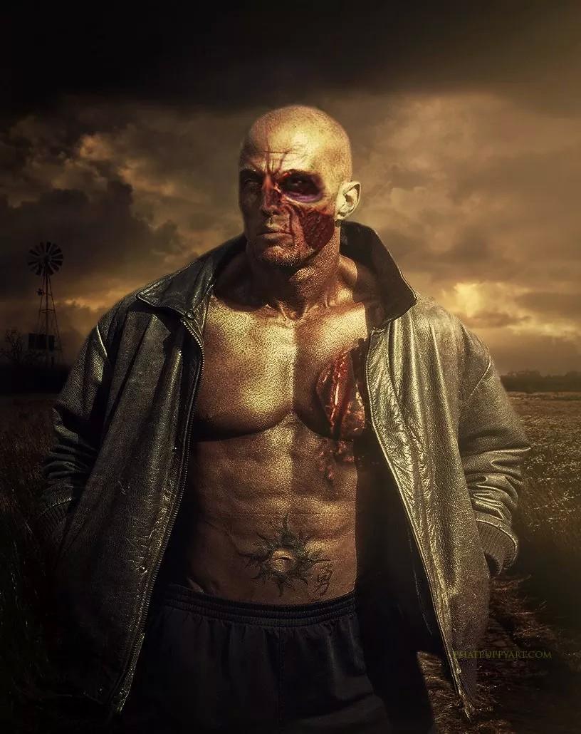Tattoo Romance Cover Model John Quinlan Zombie 2