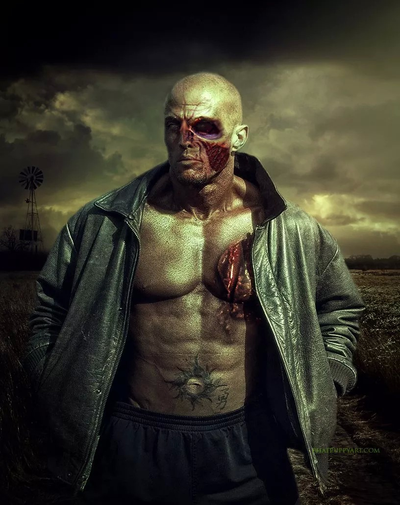 Tattoo Romance Cover Model John Quinlan Zombie