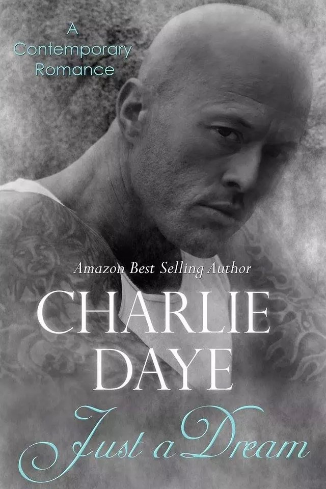 Tattooed Romance Model John Quinlan - Book Cover via 'Just a Dream' by Amazon Best Selling Author Charlie Daye #JohnQuinlan