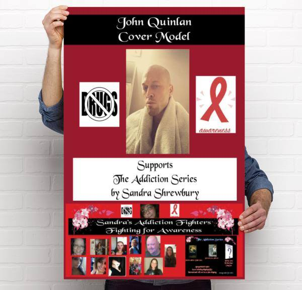 Addiction Series Celebrity Spokes Model John Joseph Quinlan Poster