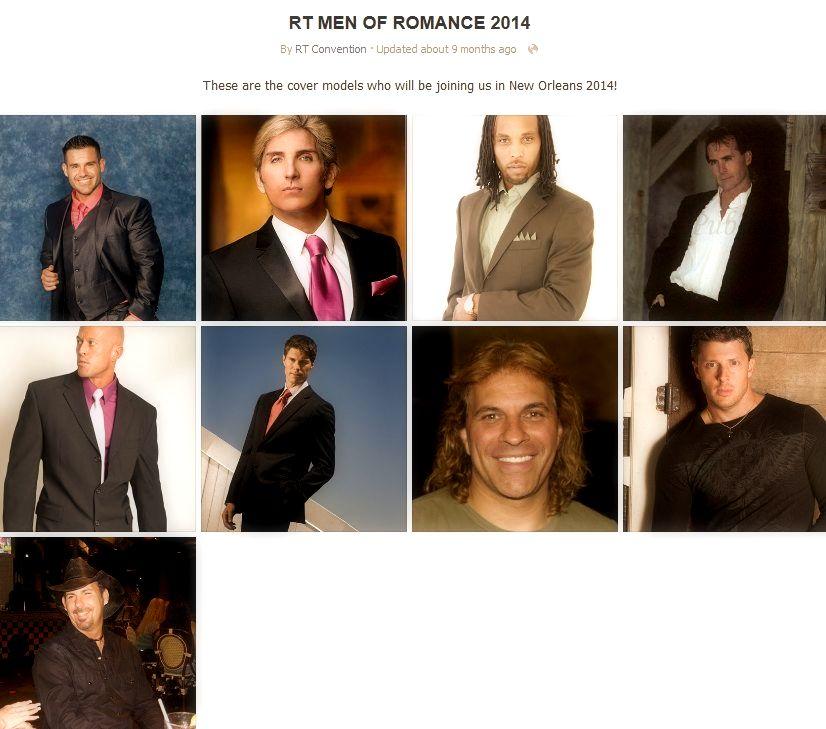 John Joseph Quinlan RT Cover Model Men of Romance 2014 New Orleans