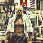 Romance & Tattoo Physique Model John Joseph Quinlan Jade Gem Autograph