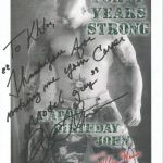 Cover Model John Quinlan Happy Birthday Khloe Wren Autograph Signed 8x10