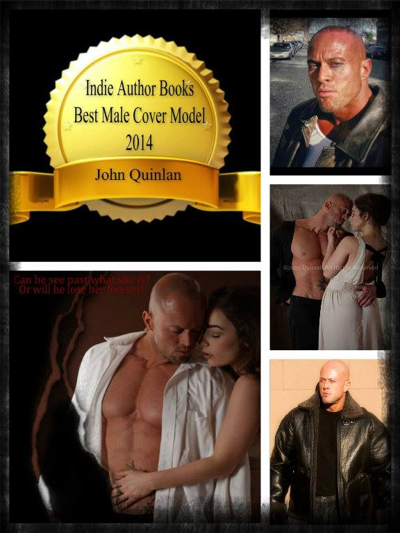 Indie Author Books Best Male Romance Cover Model 2014 John Joseph Quinlan by Patricia Statham. #JohnQuinlan