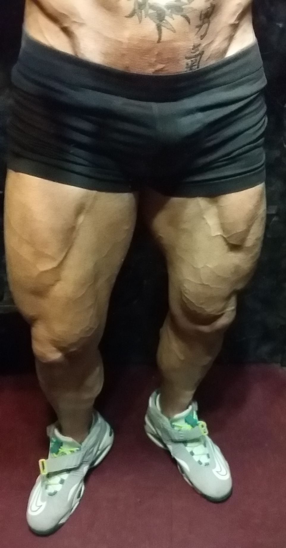 John Joseph Quinlan - Thighs & Calves Training Update via January 2015 #JohnQuinlan