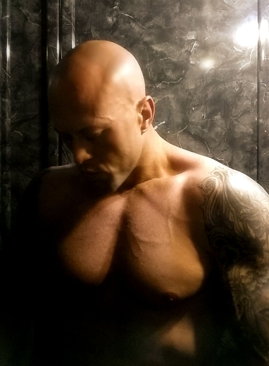 Tattooed Romance & Physique Model John Joseph Quinlan via January 2015
