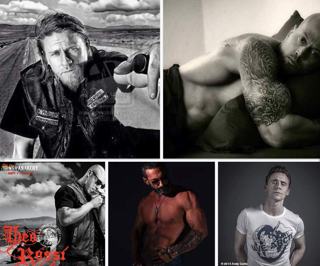 Christina Baxter-Perry's Top 5 Model & Actor Men - Tommy Barresi, John Quinlan, Theo Rossi, Charlie Hunnam and Tommy Huddleston #TommyHuddleston #CharlieHunnam #TheoRossi #JohnQuinlan #TommyBarresi