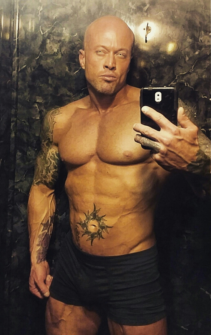 Tattooed Physique Model John Quinlan by Ms. X