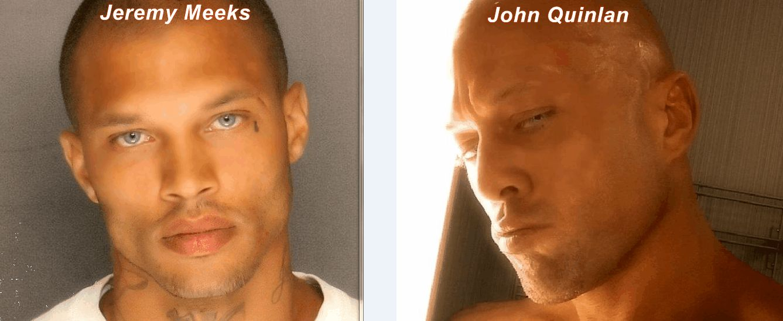 """Jeremy Meeks & John Quinlan Classic Male Model Eyes Comparison"" by Ms. X #JeremyMeeks #JohnQuinlan"