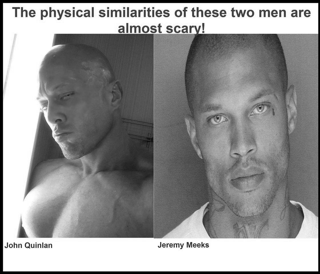 Male Model John Joseph Quinlan &  Jeremy Meeks by Romance Author Gina Kincaid. #JohnQuinlan #JeremyMeeks