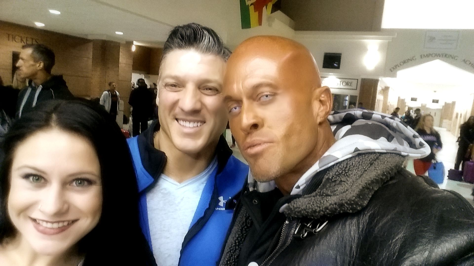 Michael Anderson & John Joseph Quinlan @ 2015 NPC Montanari Bros Powerhouse Classic in New Haven, CT. #JohnQuinlan