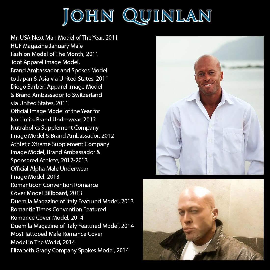 RT Romance Cover Model Profile John Joseph Quinlan by Kelli Salkin. #JohnQuinlan