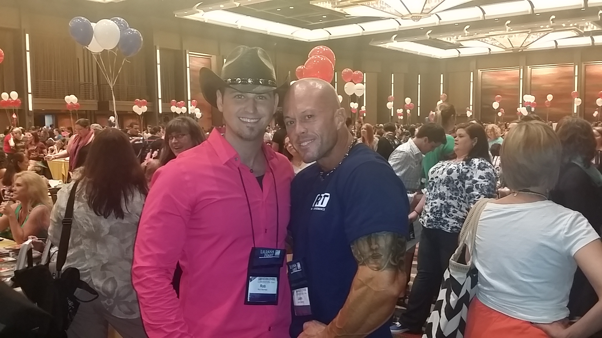 2015 Featured RT Cover Model John Joseph Quinlan & Rob Bierman. #JohnQuinlan