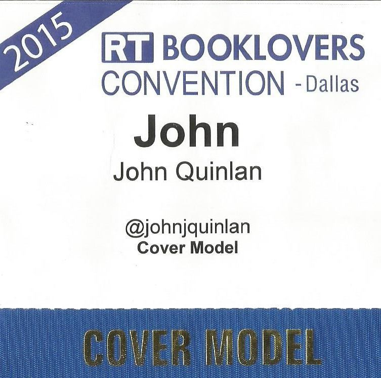 2015 RT Booklovers Convention Featured Romance Cover Model John Joseph Quinlan Dallas Texas #JohnQuinlan