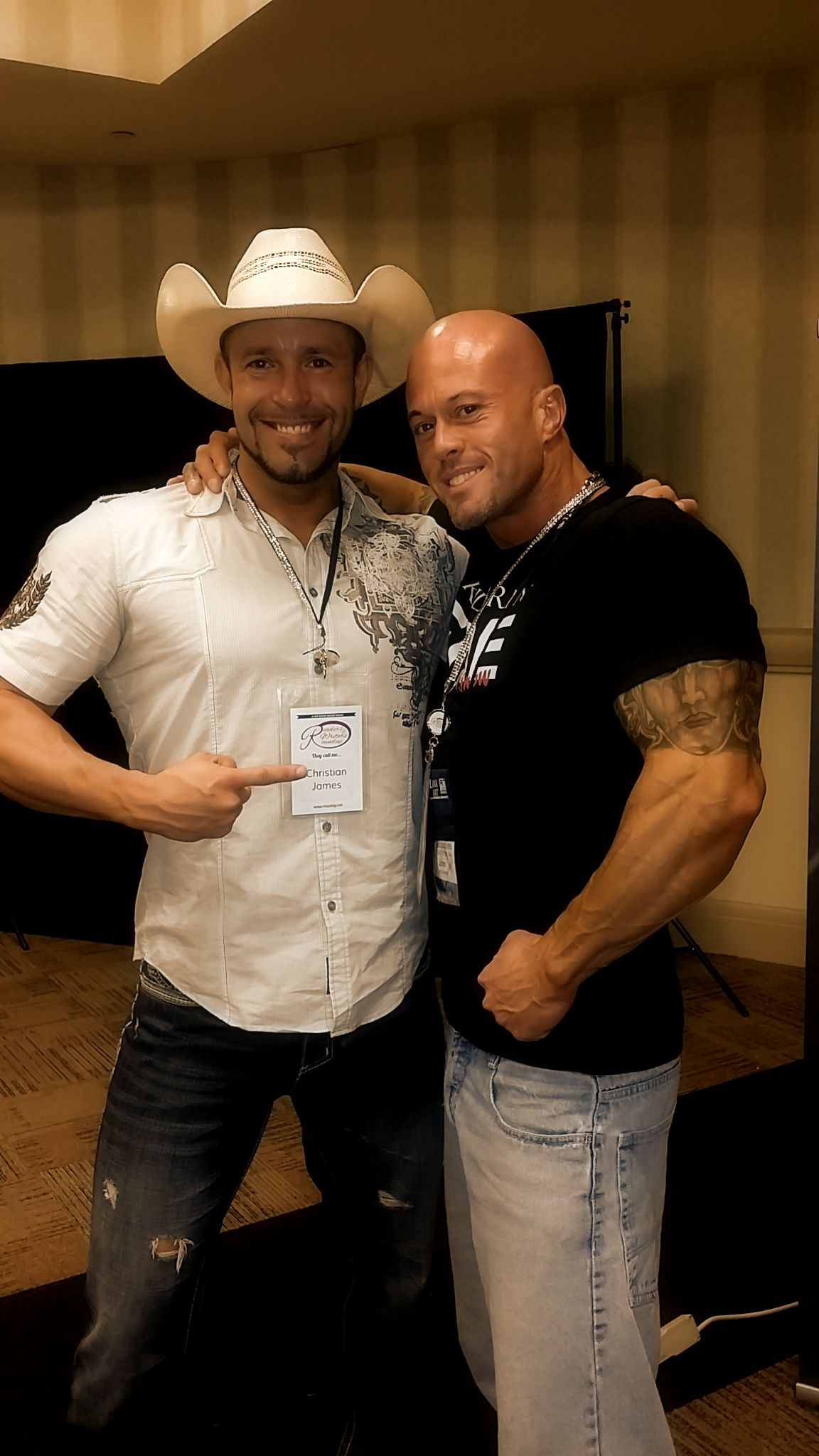 2015 RT Convention Sunday Roundup Cover Model Men of Romance Christian James & John Quinlan @ the Hyatt Regency Hotel in Dallas, Texas on May 17, 2015 #JohnQuinlan #ChristianJames #RT15
