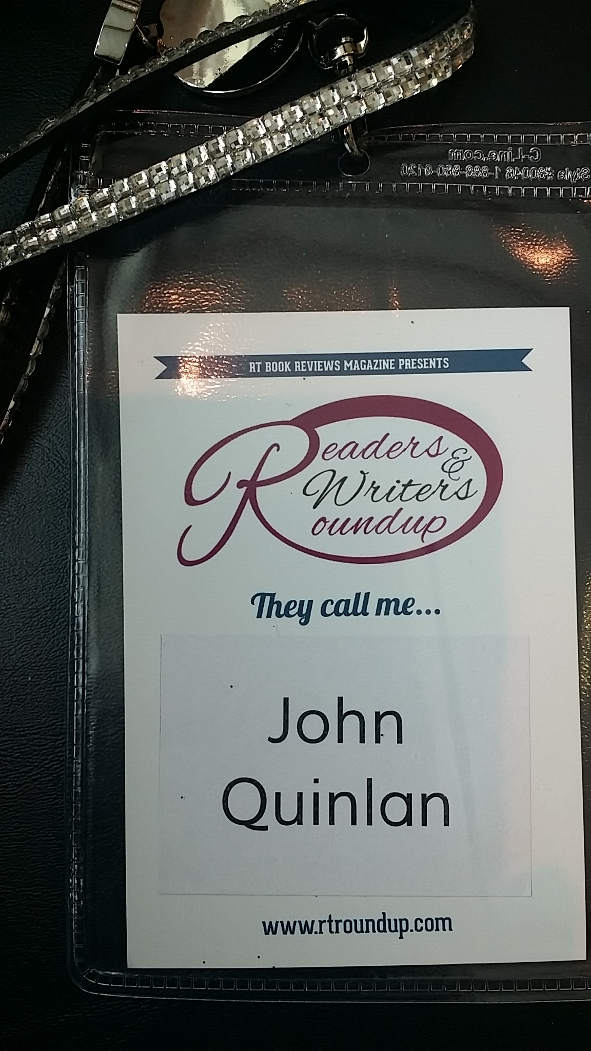 John Joseph Quinlan 2015 RT Convention Romance Readers & Writers Roundup Featured Cover Model Man #JohnQuinlan