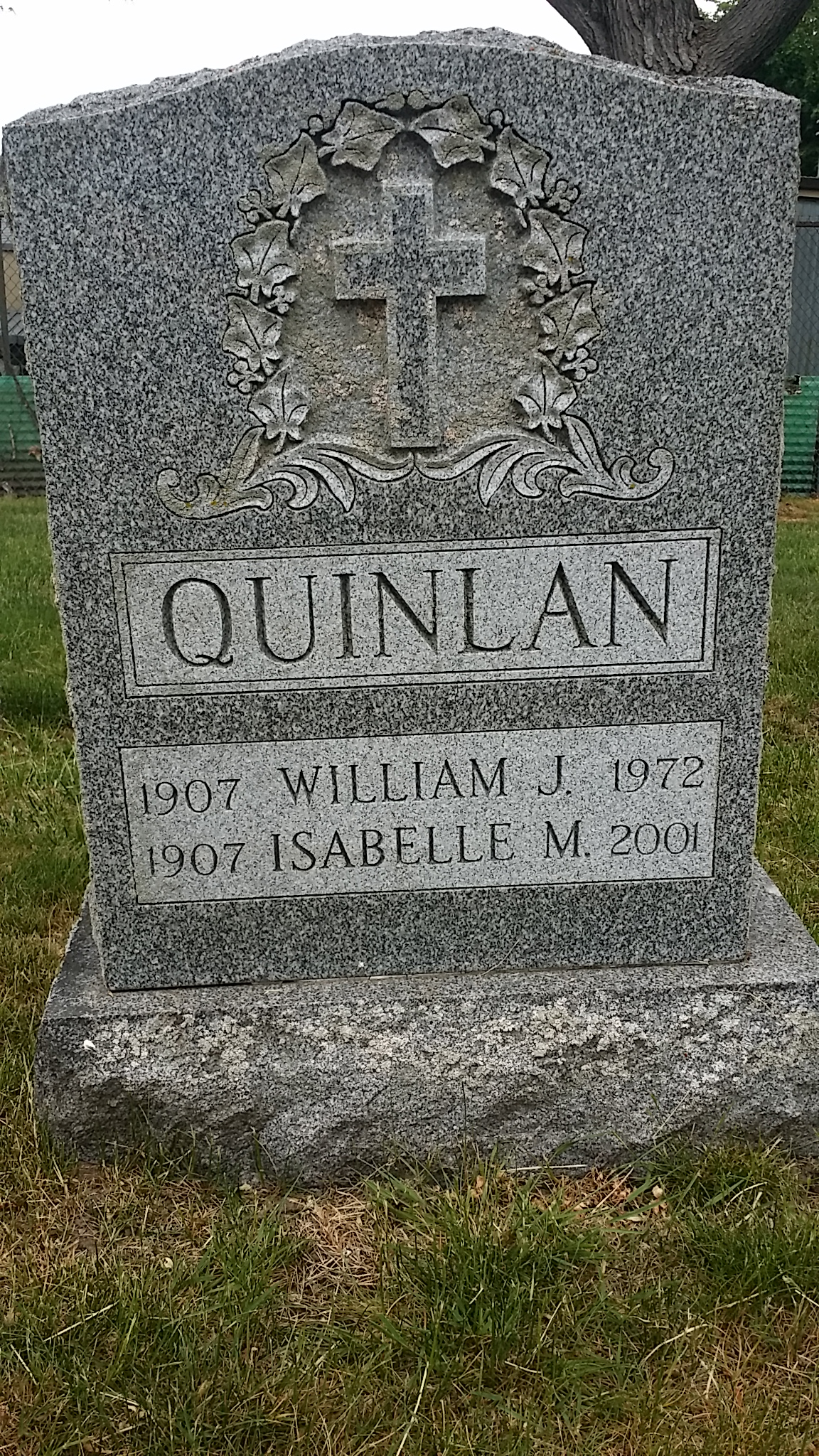 John Joseph Quinlan Grandmother Isabelle #JohnQuinlan