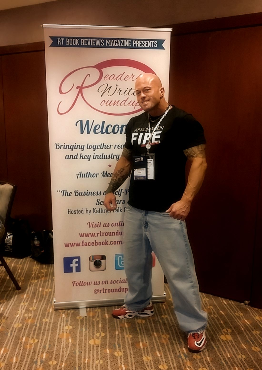 John Quinlan 2015 RT Convention Readers & Writers Roundup Featured Cover Model. #JohnQuinlan
