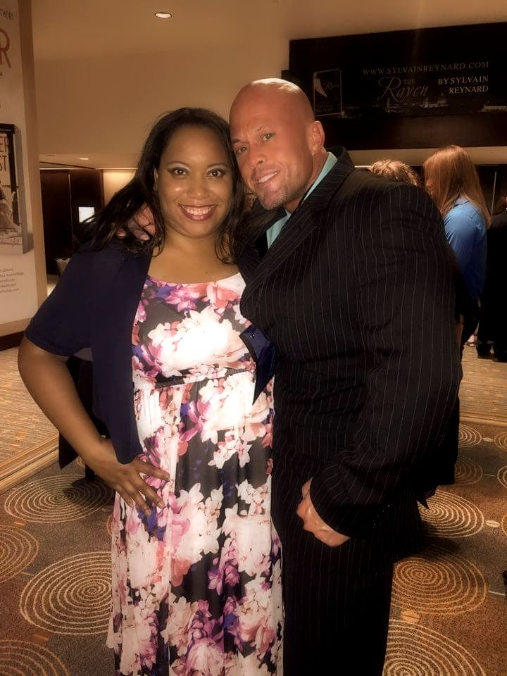 2015 RT Convention Book Reviews Awards Winners Reception  Cover Model John Joseph Quinlan & Tiffani Thomas Parker #JohnQuinlan