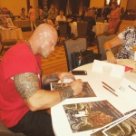 2015 World Famous RT Book Convention Featured Romance Cover Model John Joseph Quinlan Autograph Signing #JohnQuinlan