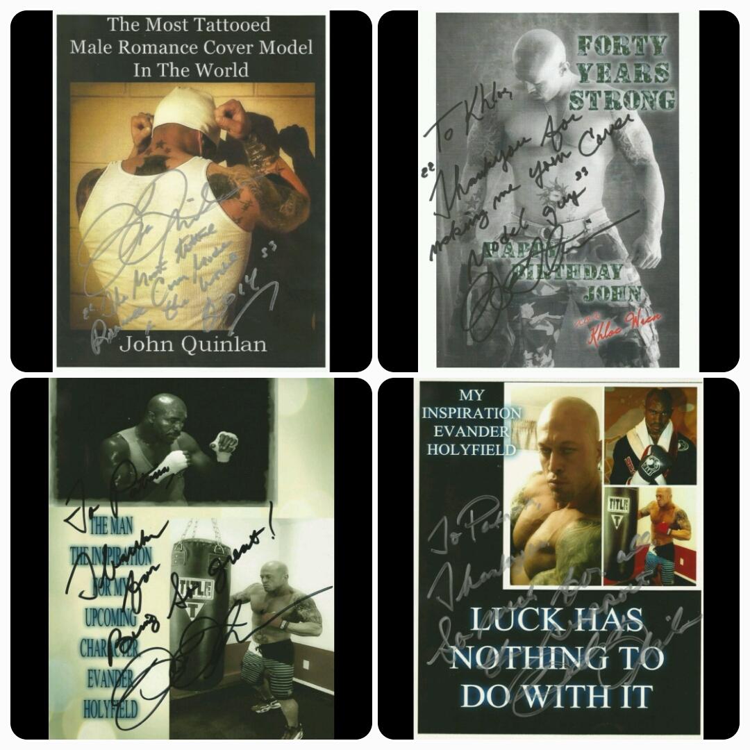 John Quinlan - Signed 8x10 Autograph Promos #JohnQuinlan